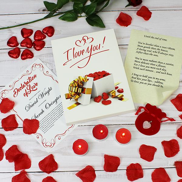I love you gift set lifestyle product image