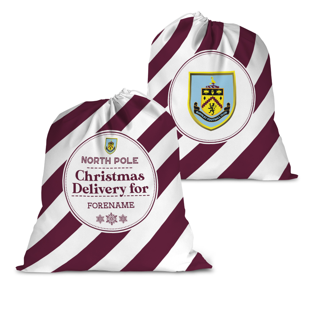 Burnley FC Christmas Delivery Santa Sack