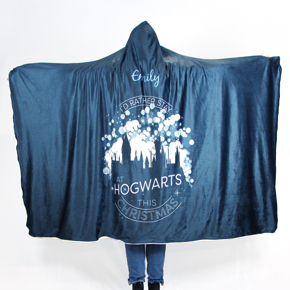 Harry Potter™ Adult Hooded Blanket - Stay At Hogwarts