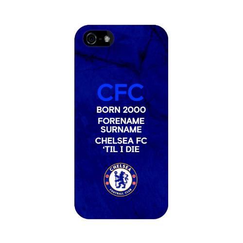 Chelsea FC 'Til I Die iPhone 5/5S/5SE Phone Case