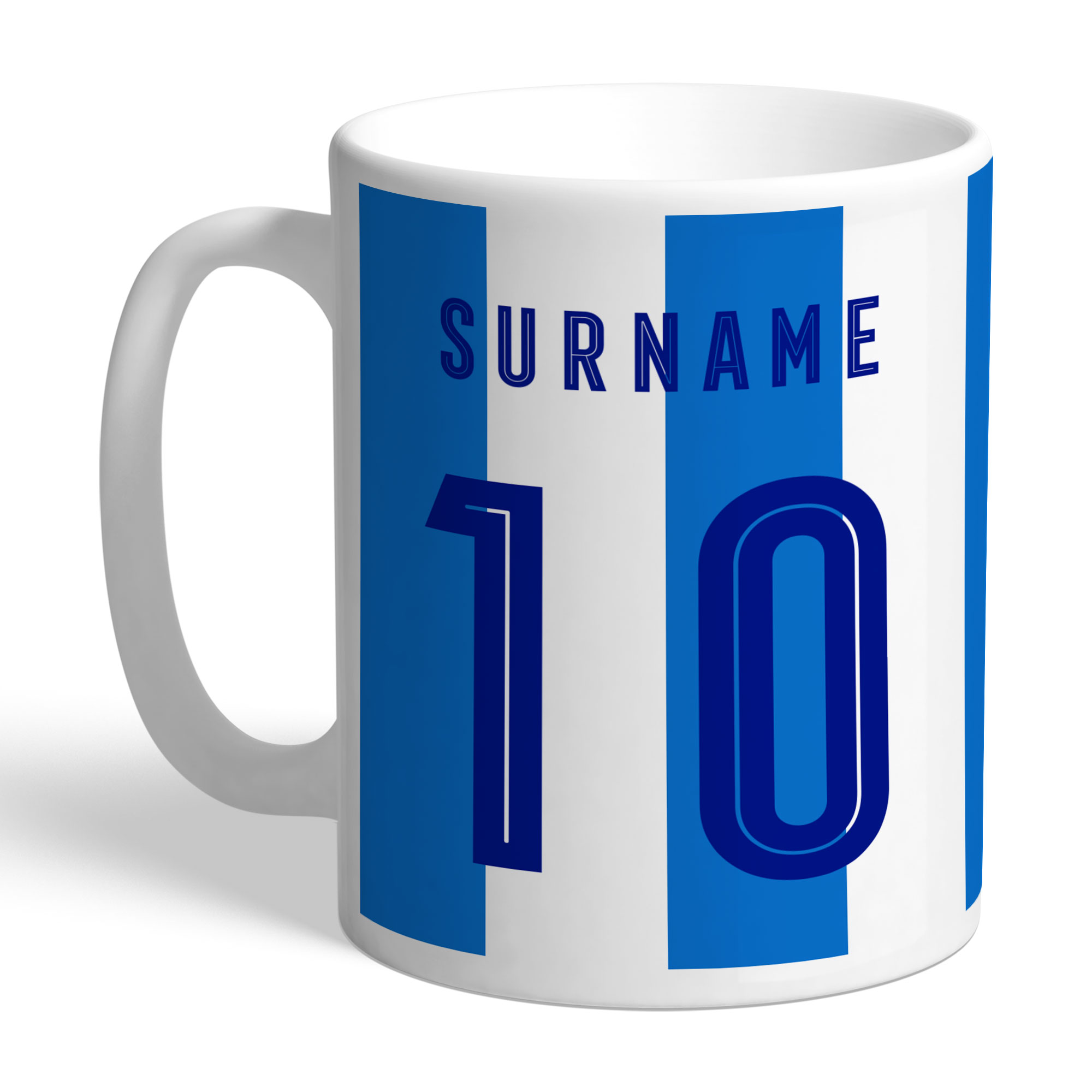 Huddersfield Town Retro Shirt Mug