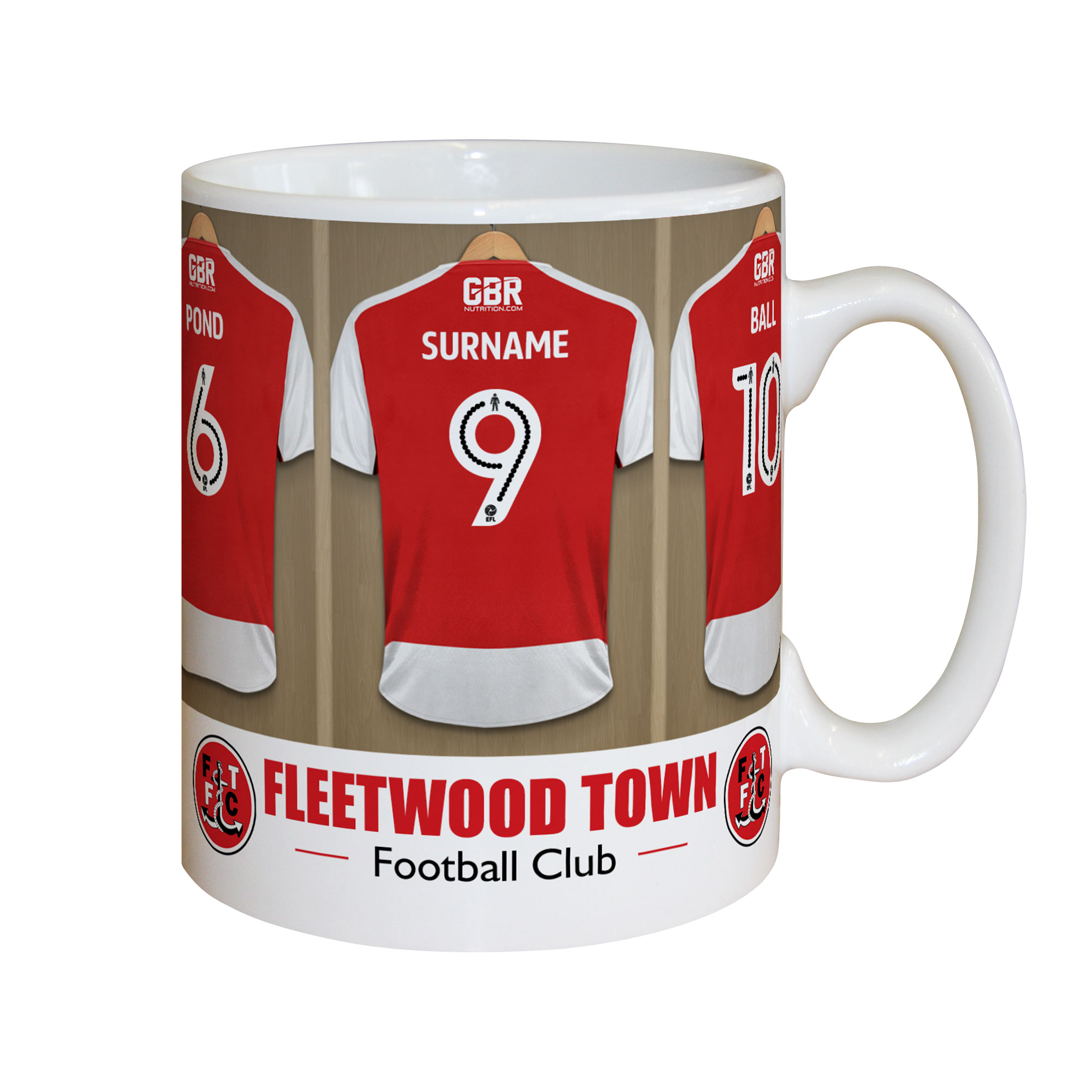 Fleetwood Town FC Dressing Room Mug