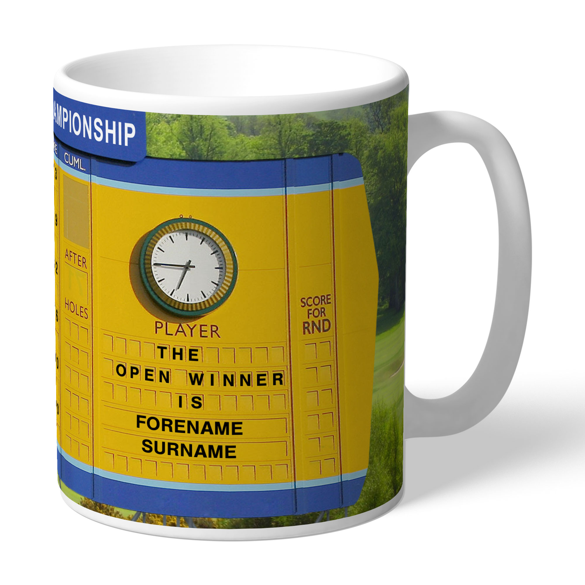 Personalised Open Championship Mug