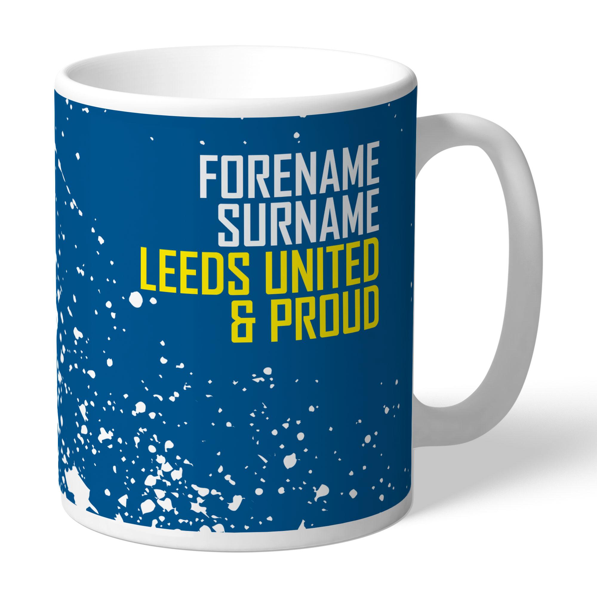 Leeds United FC Proud Mug