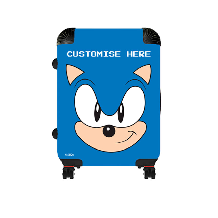 Cabin Suitcase - Sonic Face - Classic Sonic