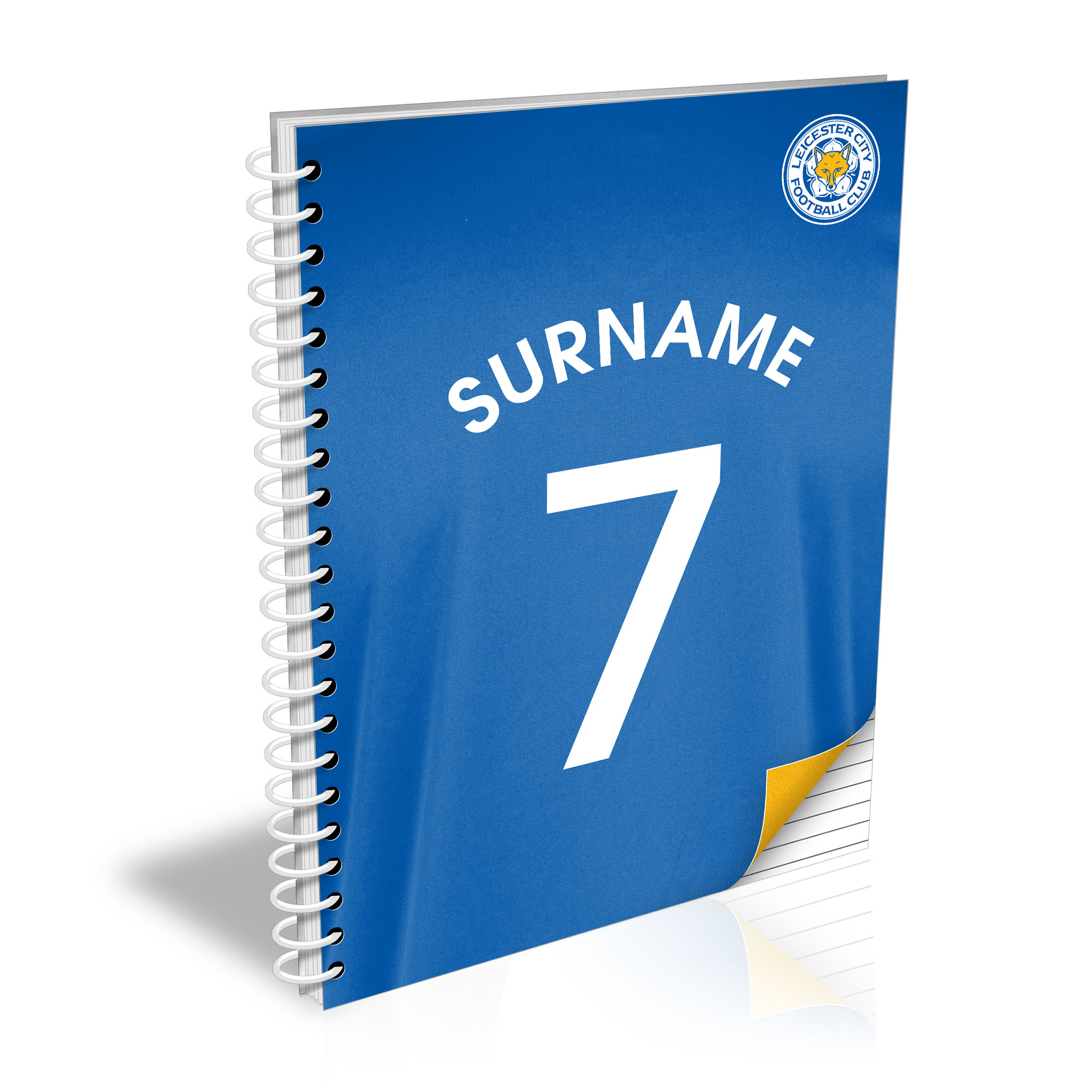 Leicester City FC Shirt Notebook