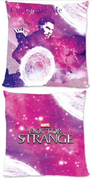 Marvel Doctor Strange 'Galaxy' Large Fiber Cushion