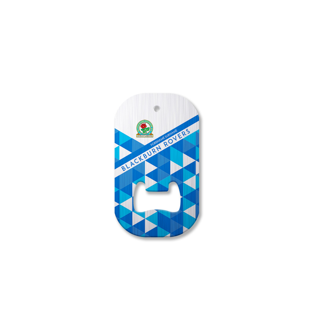 Blackburn Rovers FC Patterned Compact Bottle Opener