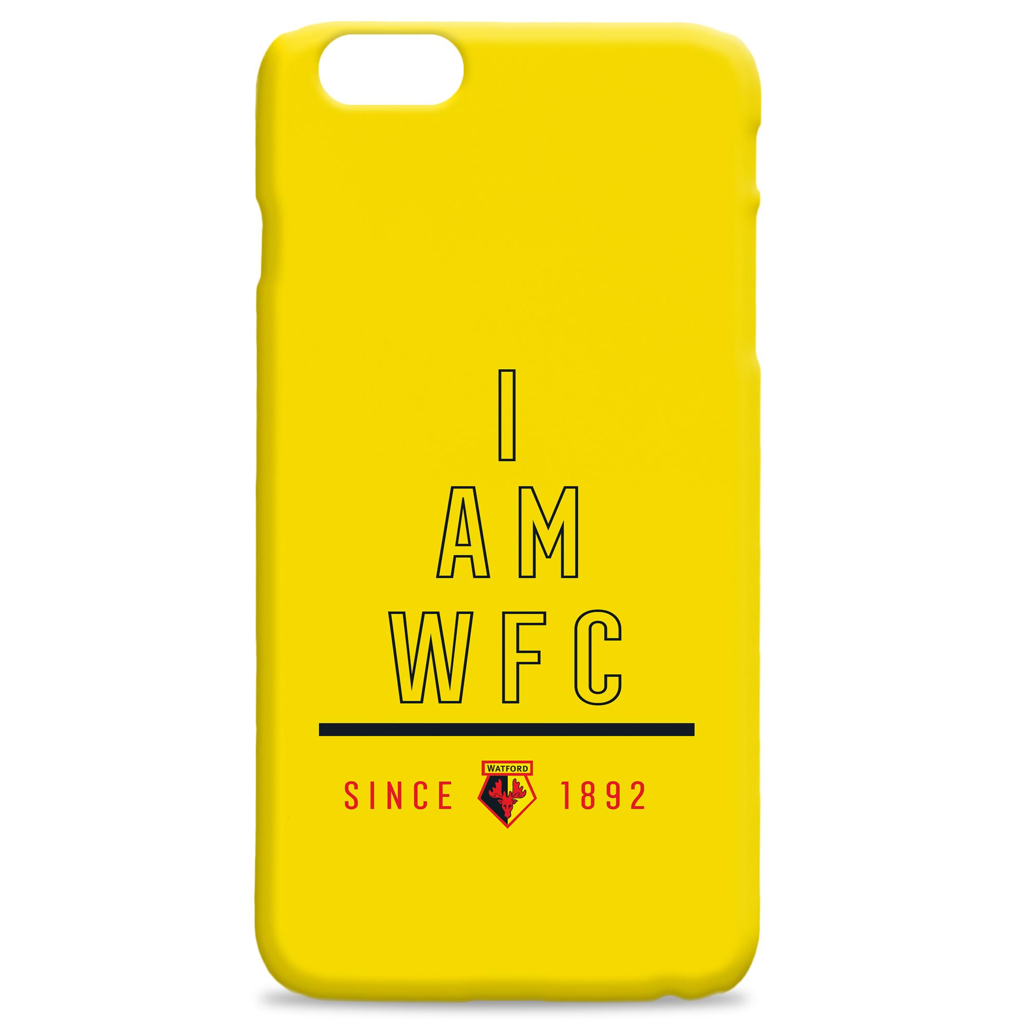Watford FC I Am Phone Case