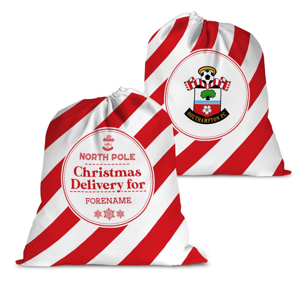 Southampton FC Christmas Delivery Santa Sack