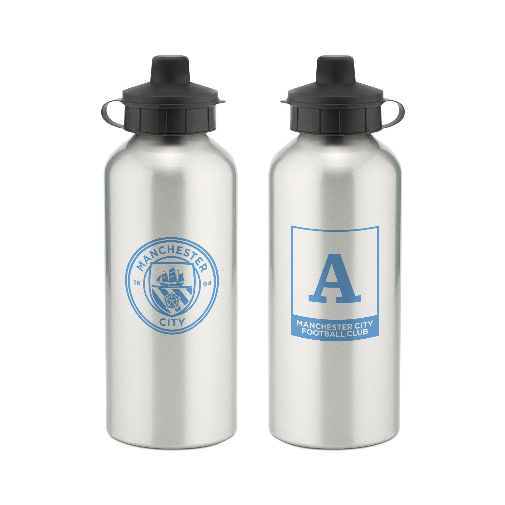 Manchester City FC Monogram Aluminium Water Bottle