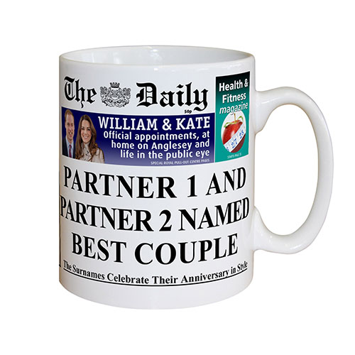 The Daily Anniversary Mug