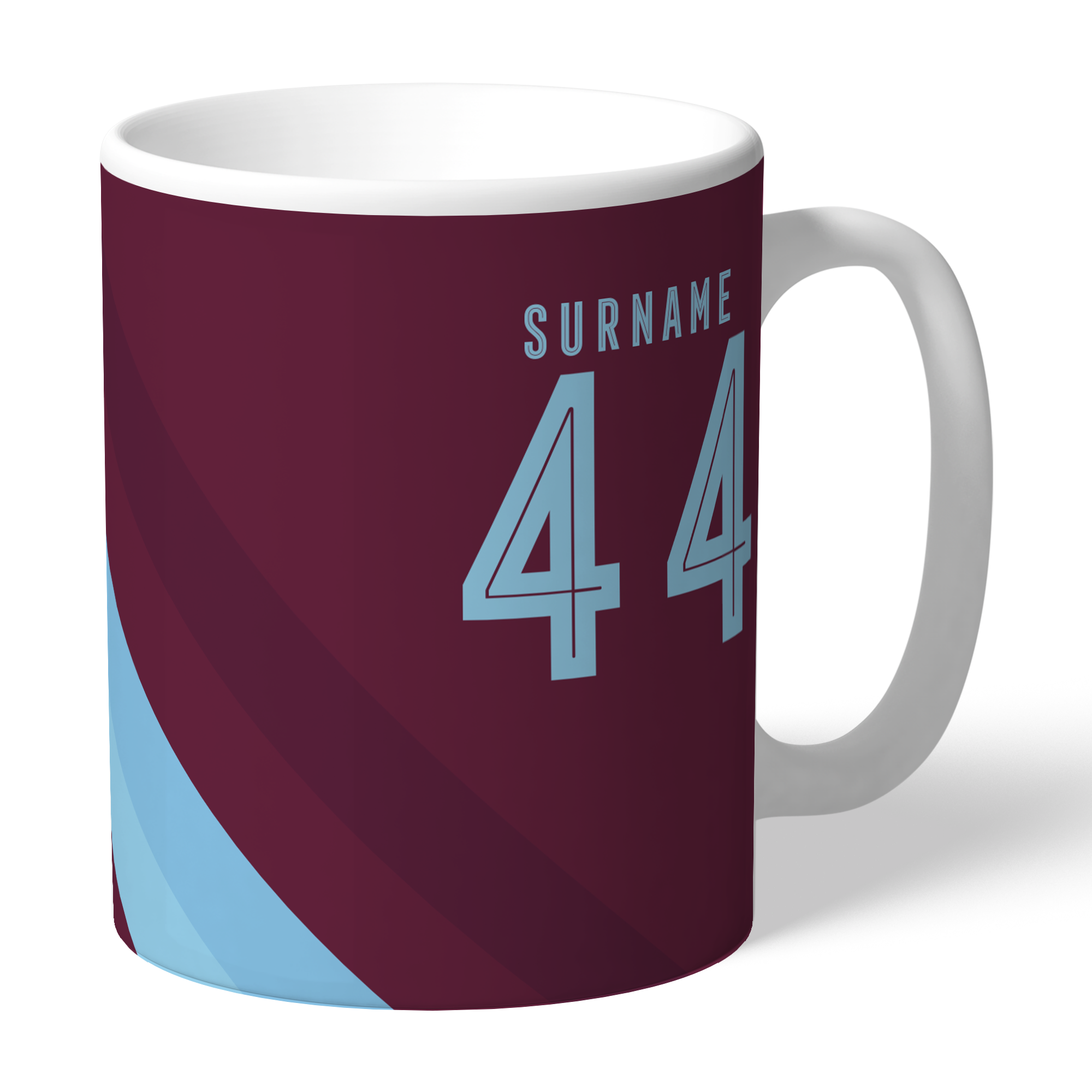 Burnley FC Stripe Mug