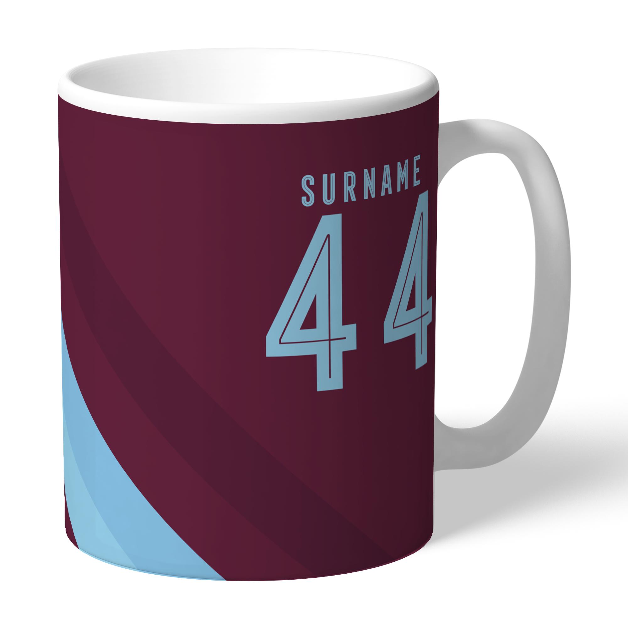 Burnley FC Stripe Mug
