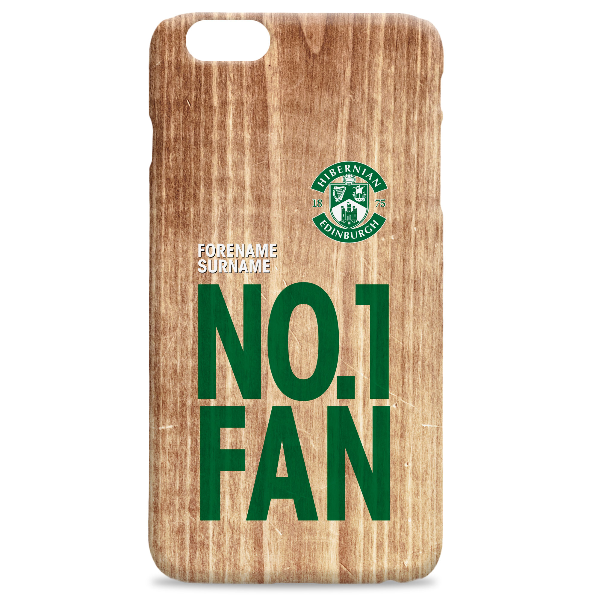 Hibernian FC No 1 Fan Hard Back Phone Case