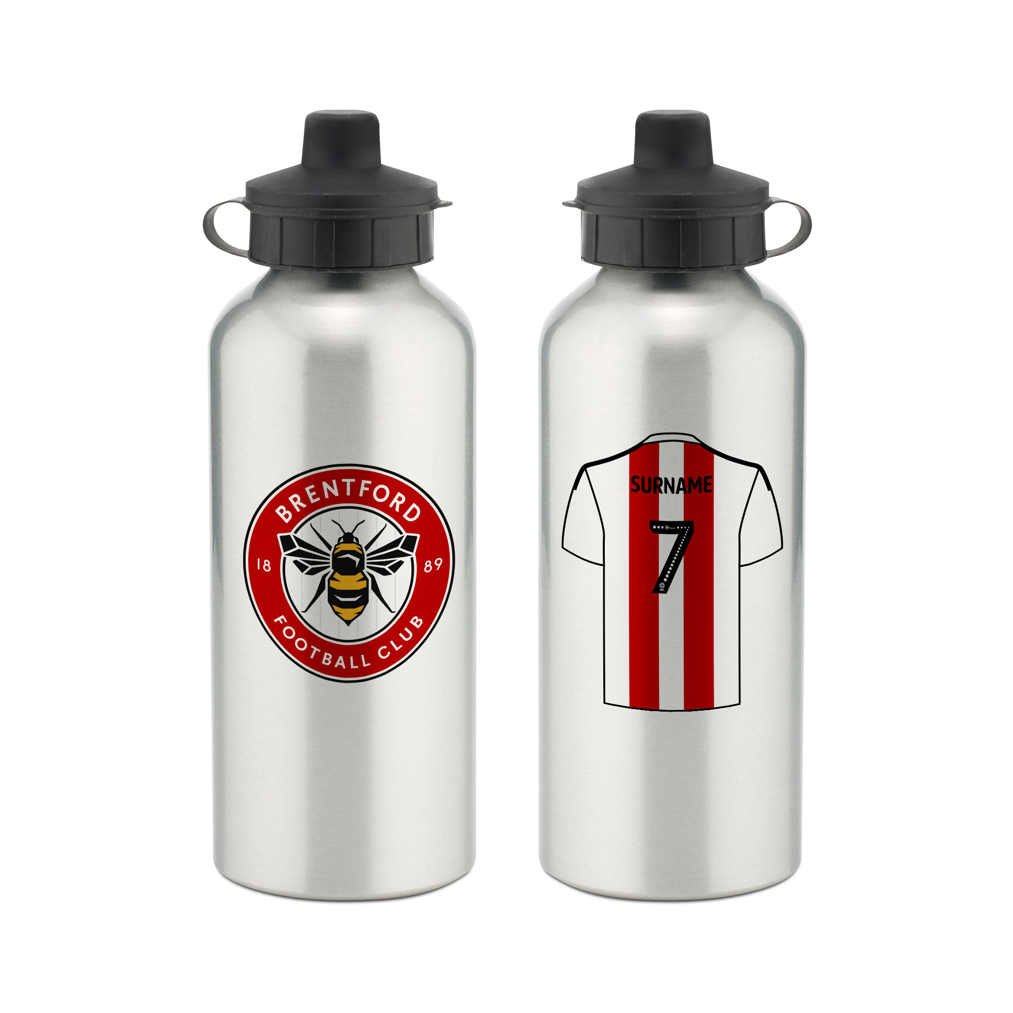 Brentford FC Aluminium Water Bottle