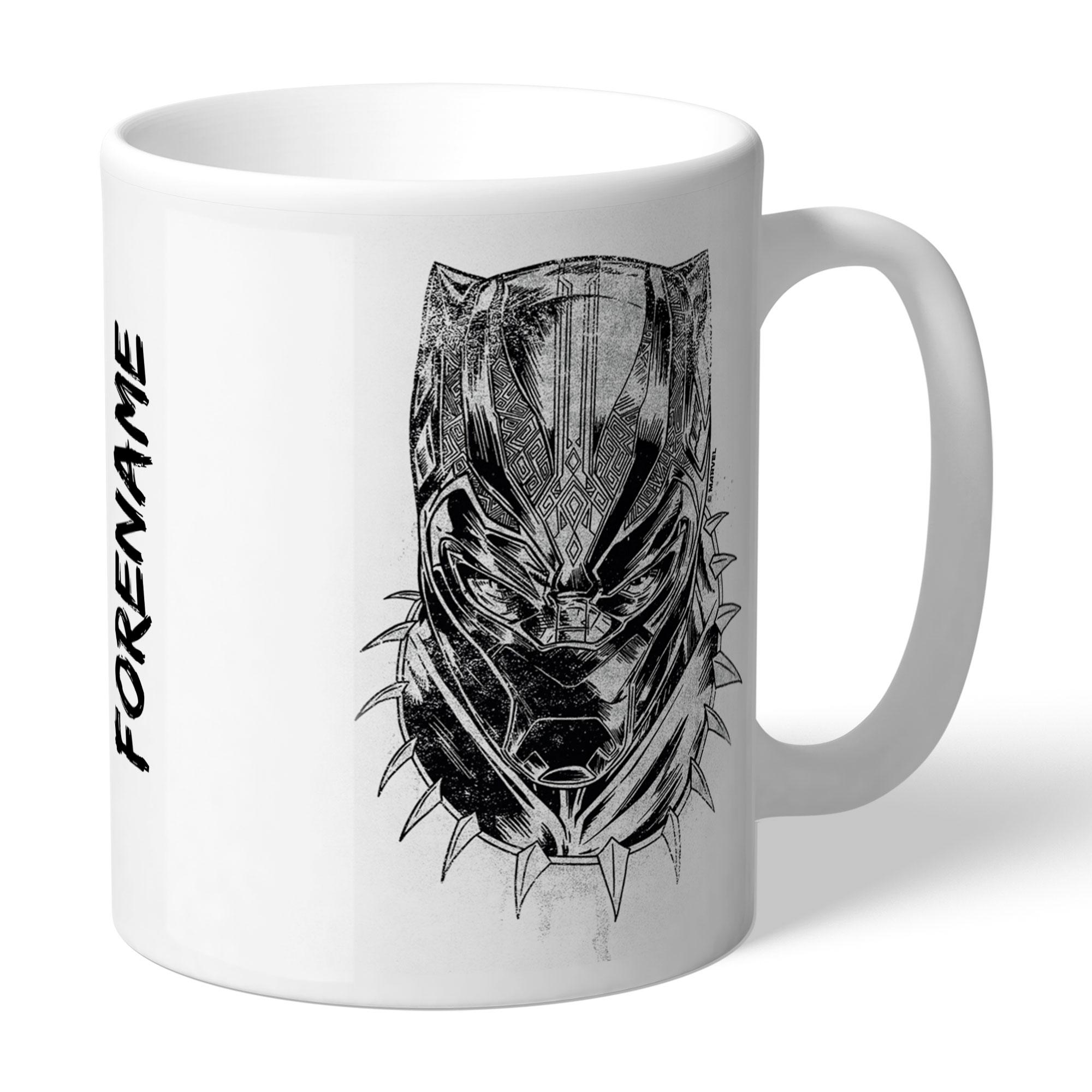 Marvel Black Panther Sketch Mug