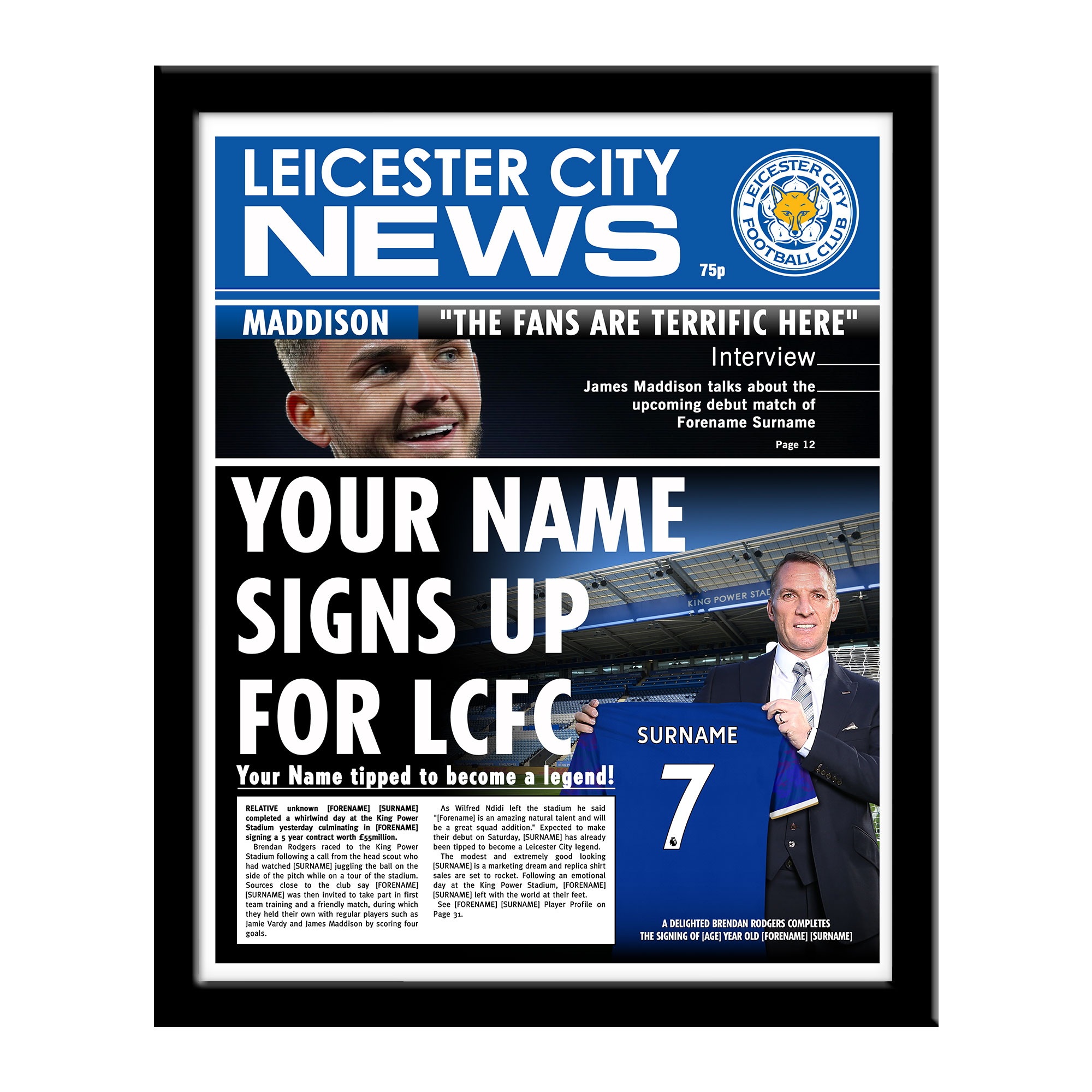 Leicester City FC News