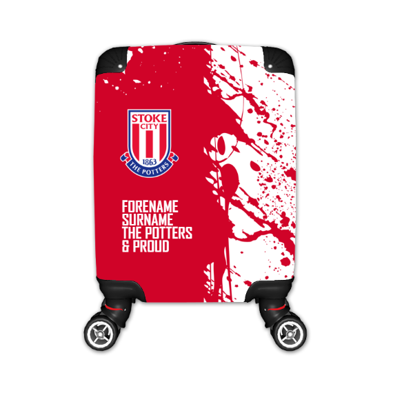 Stoke City FC Proud Kid's Suitcase