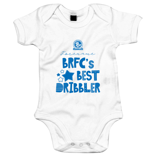 Blackburn Rovers FC Best Dribbler Baby Bodysuit