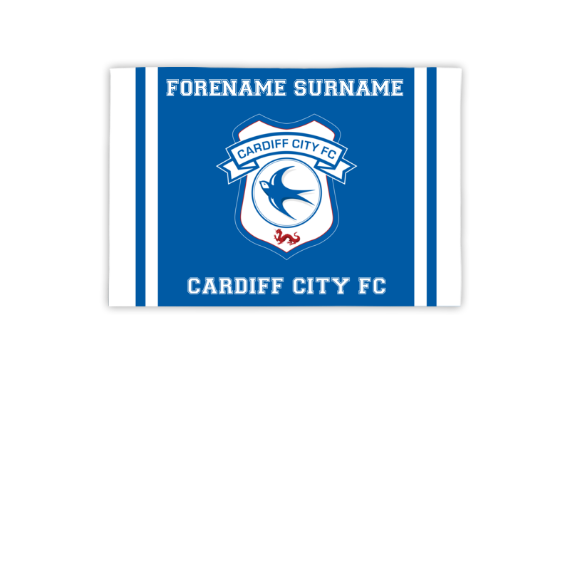 Cardiff City FC Crest 3ft x 2ft Banner