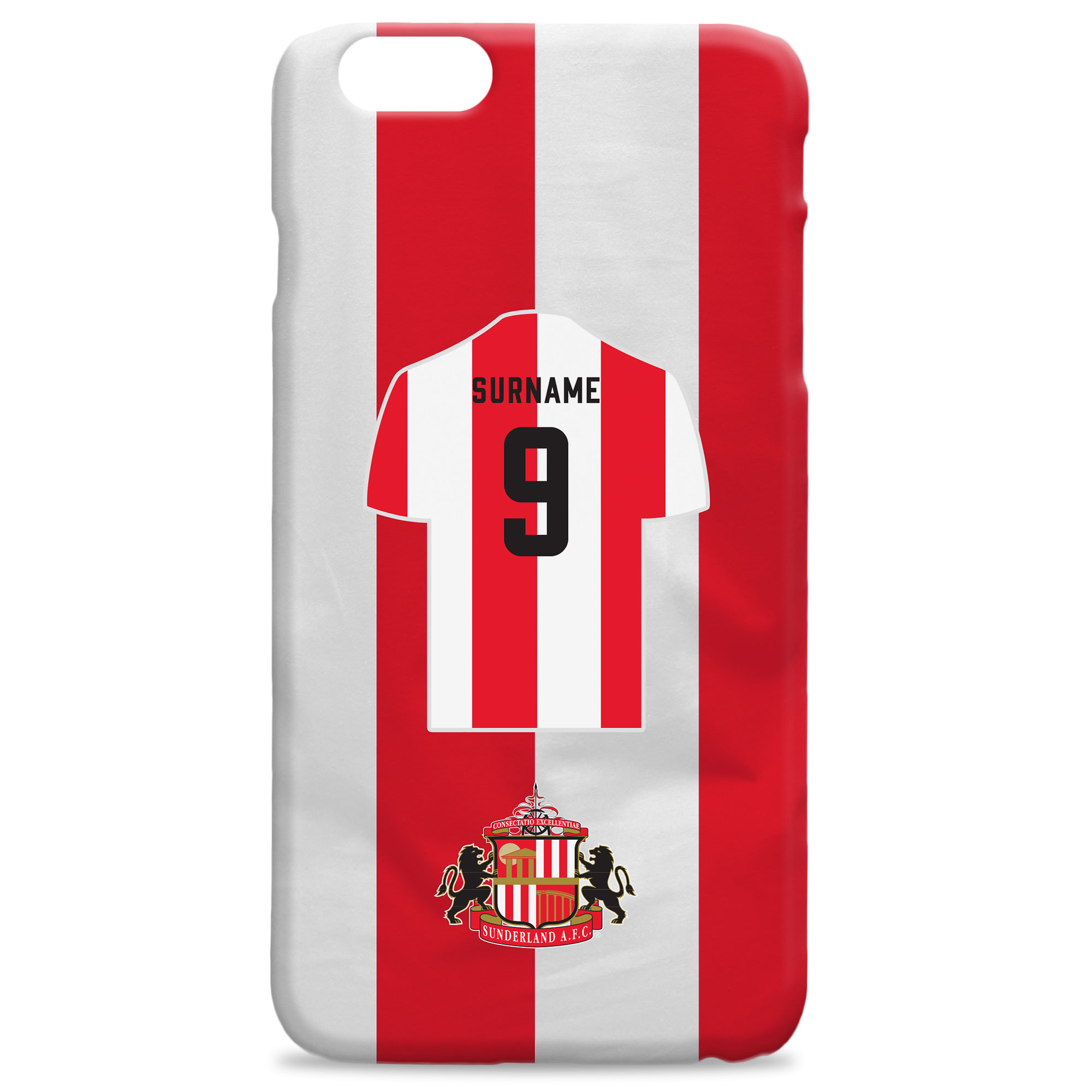 Sunderland Shirt Hard Back Phone Case