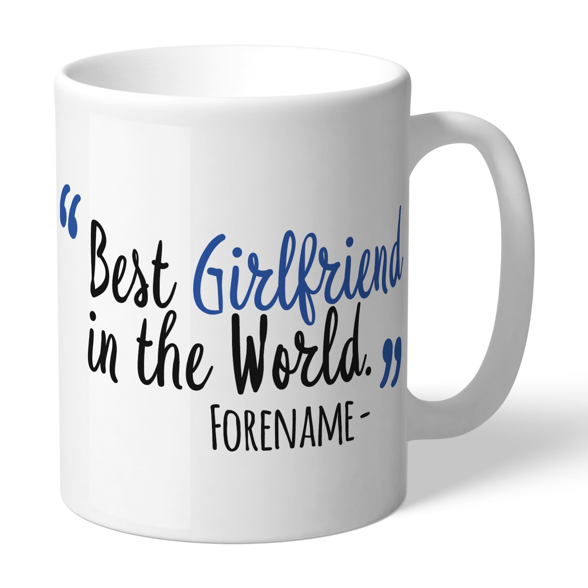 Sheffield Wednesday Best Girlfriend In The World Mug