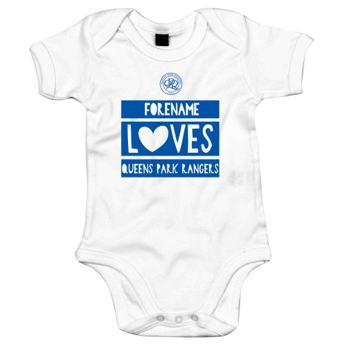 Queens Park Rangers FC Loves Baby Bodysuit