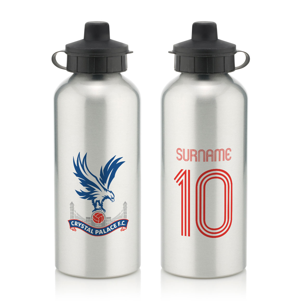 Crystal Palace FC Retro Shirt Water Bottle