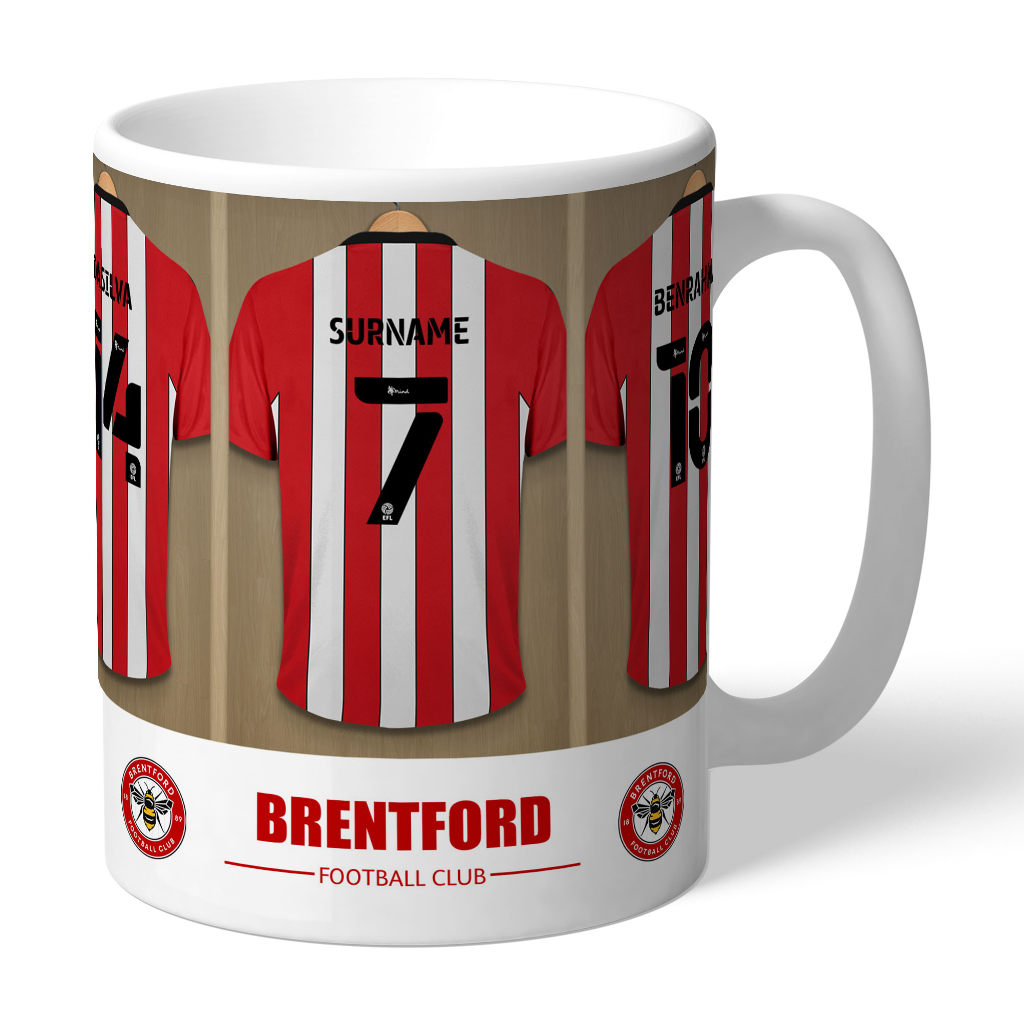 Brentford FC Dressing Room Mug
