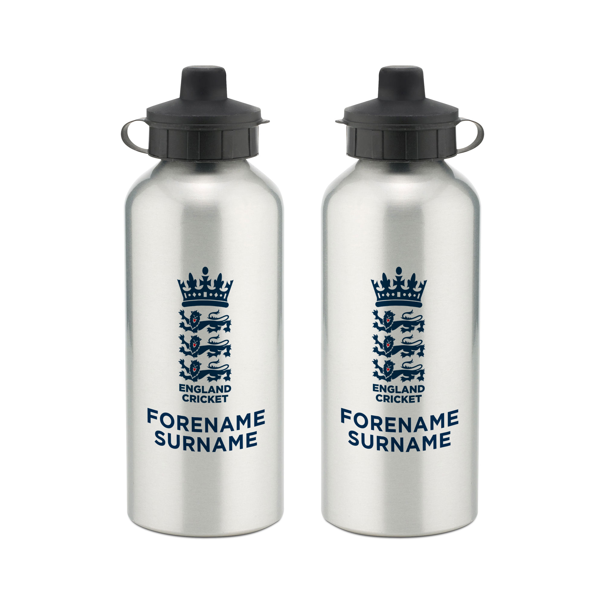 England Cricket Bold Crest Water Bottle