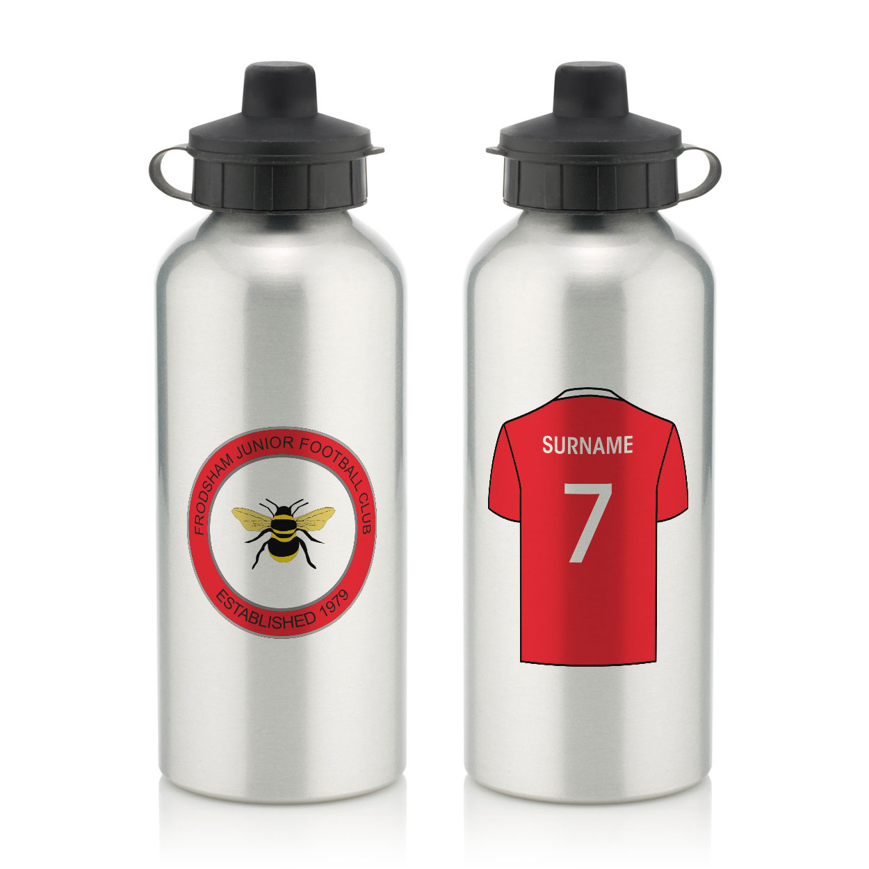 Frodsham JFC Aluminium Water Bottle