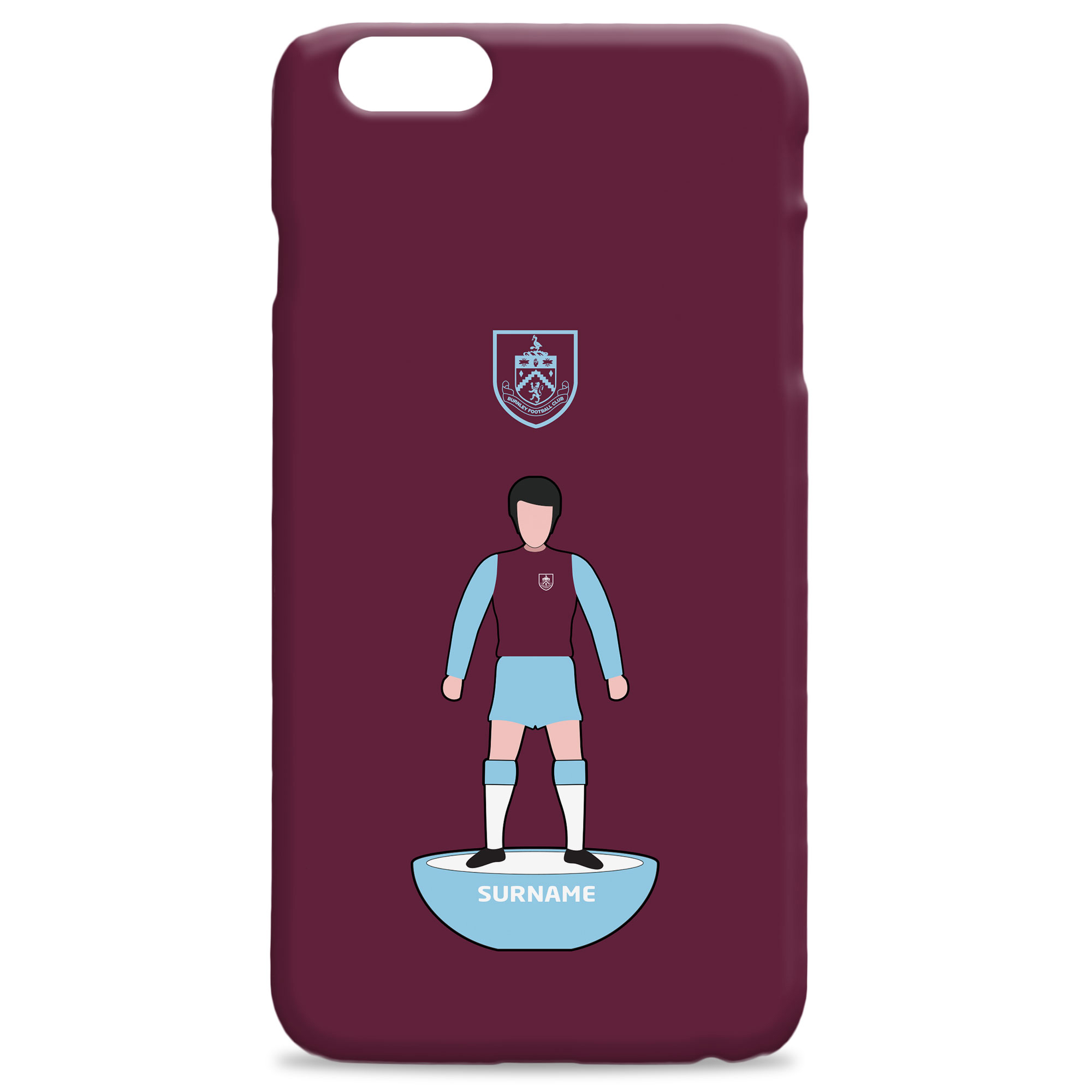Burnley FC Player Figure Hard Back Phone Case