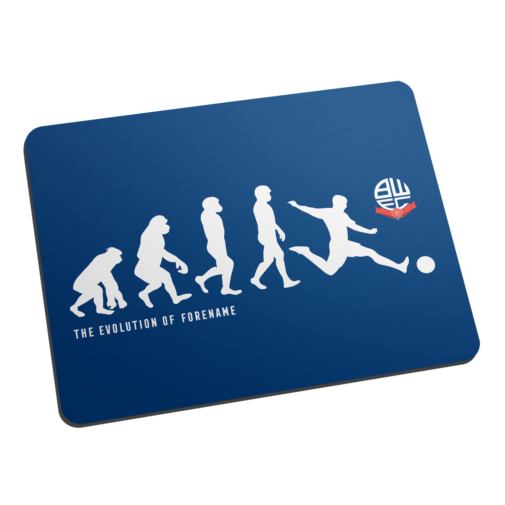 Bolton Wanderers Evolution Mouse Mat