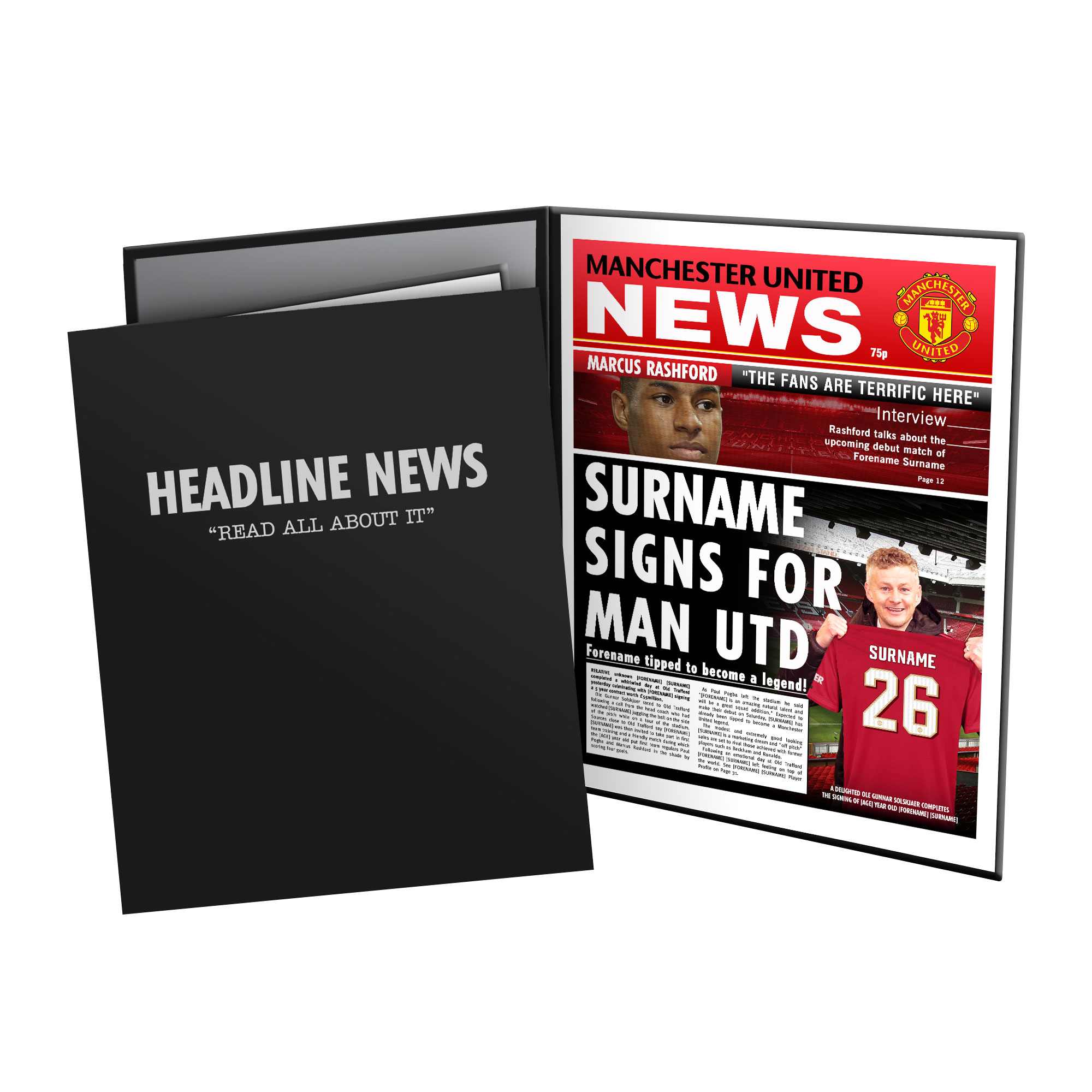 Manchester United FC News Folder