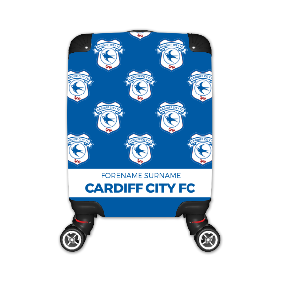 Cardiff City FC Mini Crest Kid's Suitcase