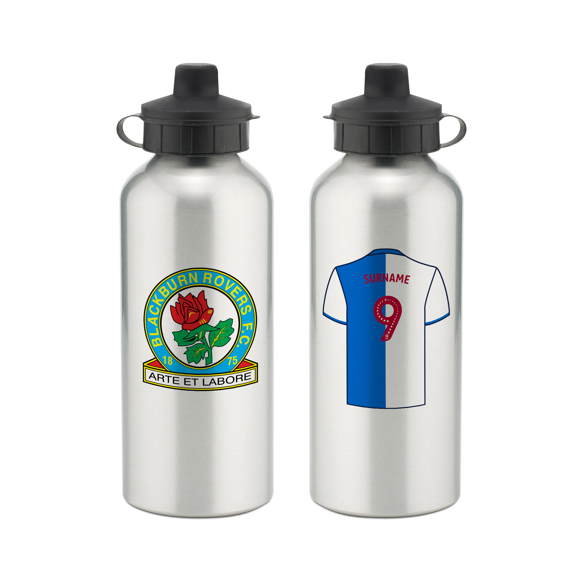 Blackburn Rovers FC Aluminium Water Bottle
