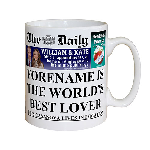 The Daily Greatest Lover Mug