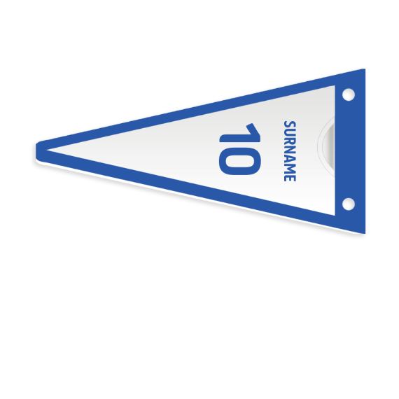 Sheffield Wednesday FC Shirt Pennant