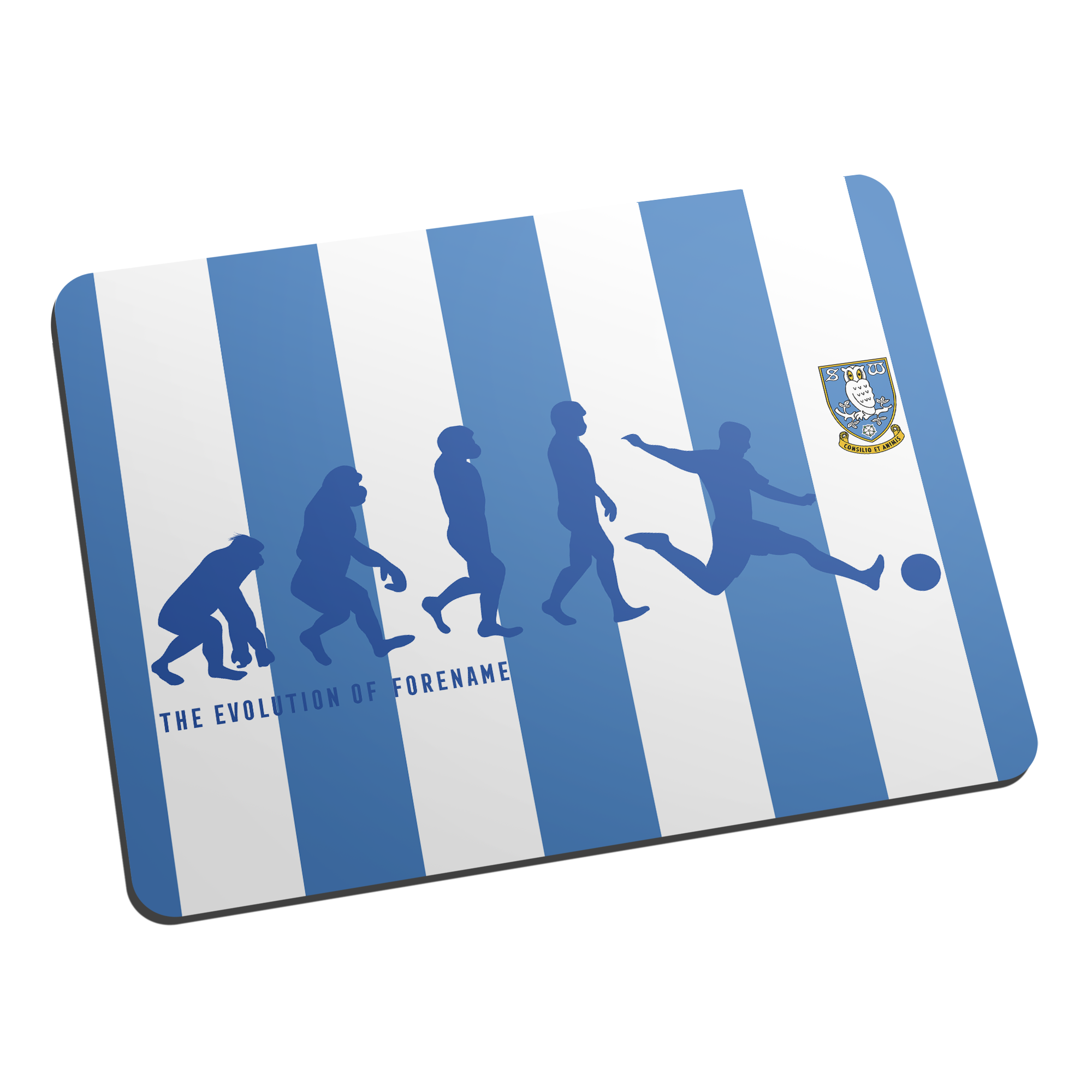 Sheffield Wednesday Evolution Mouse Mat