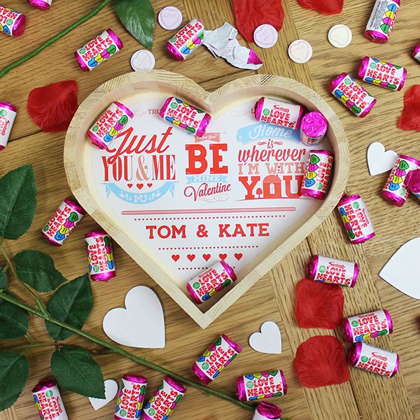 Be My Valentine Wooden Love Heart- Large