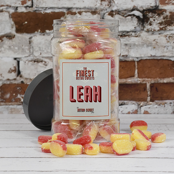Rhubarb and Custard Sweet Jar