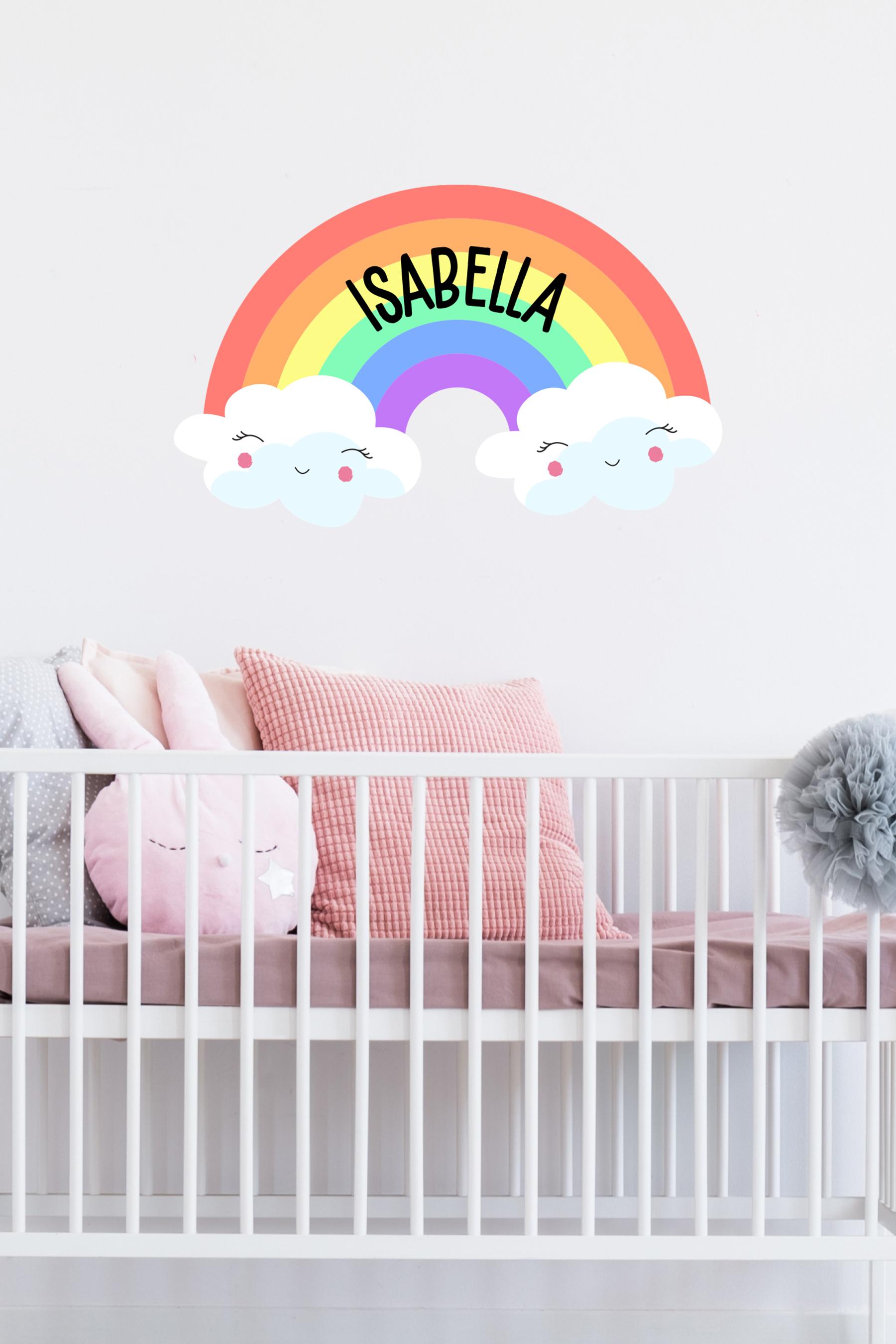 Rainbow Cloud Sticker
