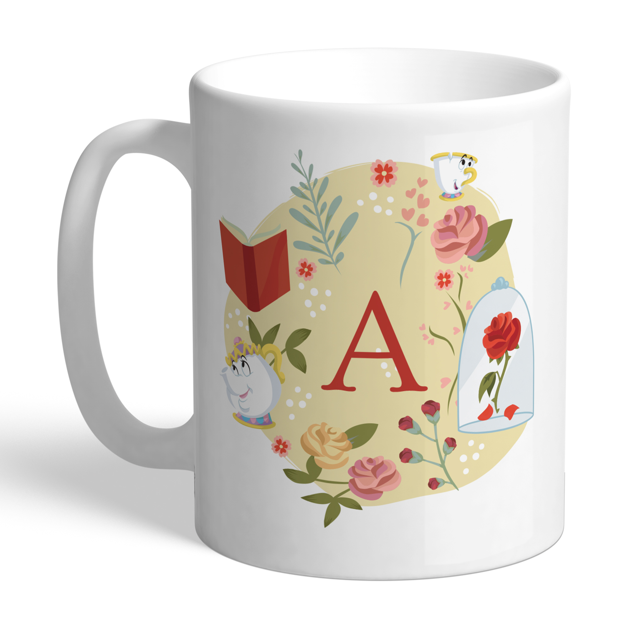 Disney Princess Belle Initial Mug