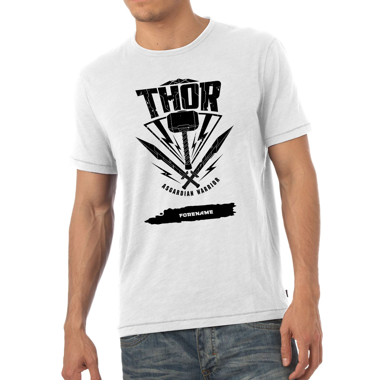 Marvel Thor Ragnarok Thor Badge Mens T-Shirt
