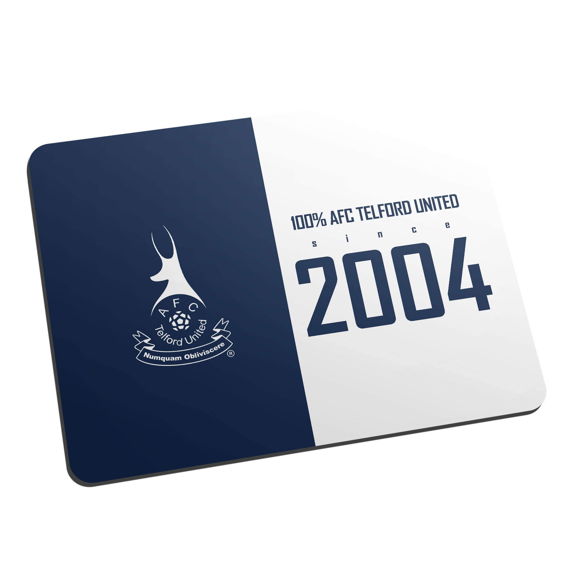 AFC Telford United 100 Percent Mouse Mat