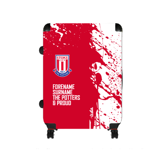 Stoke City FC Proud Large Suitcase