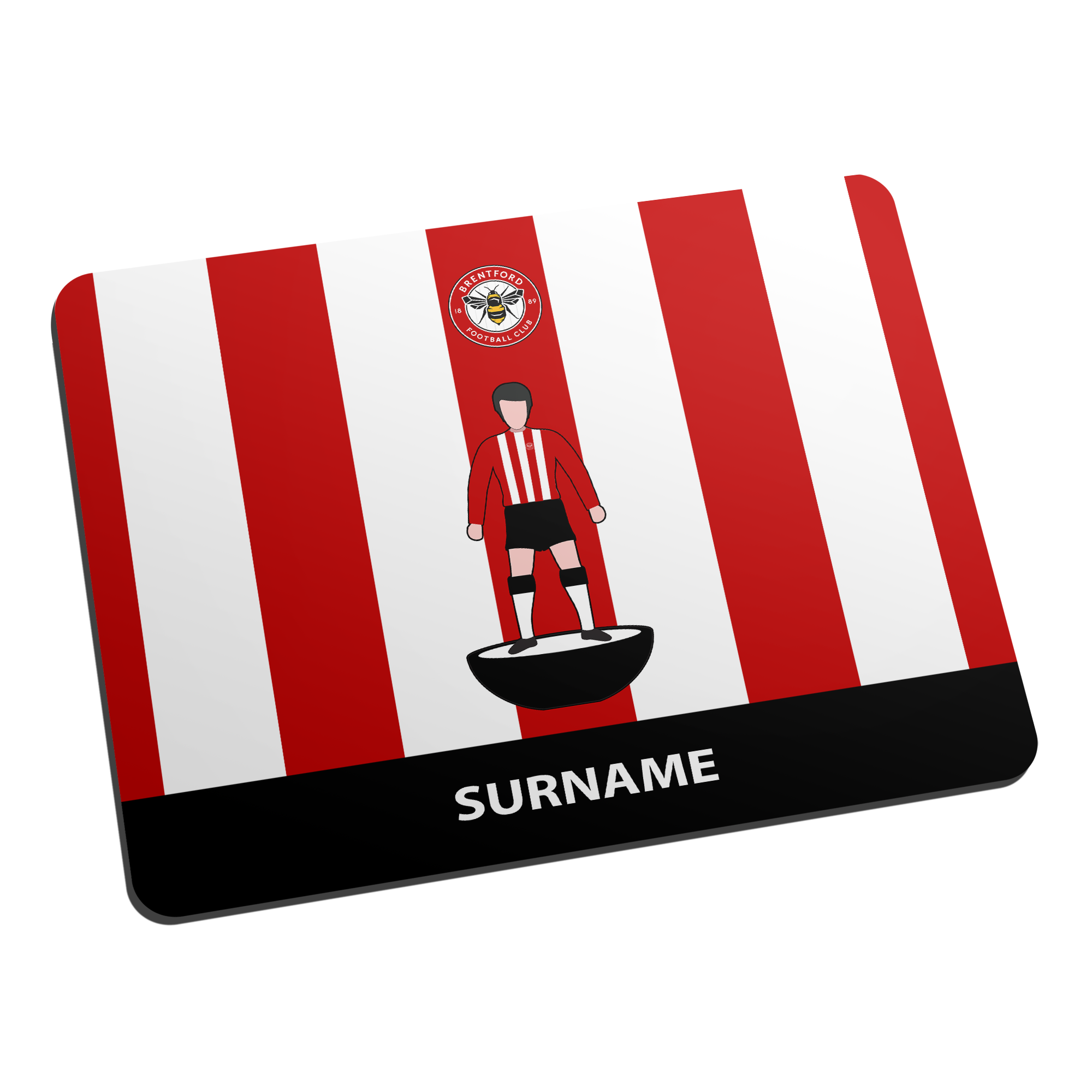 Brentford Player Figure Mouse Mat