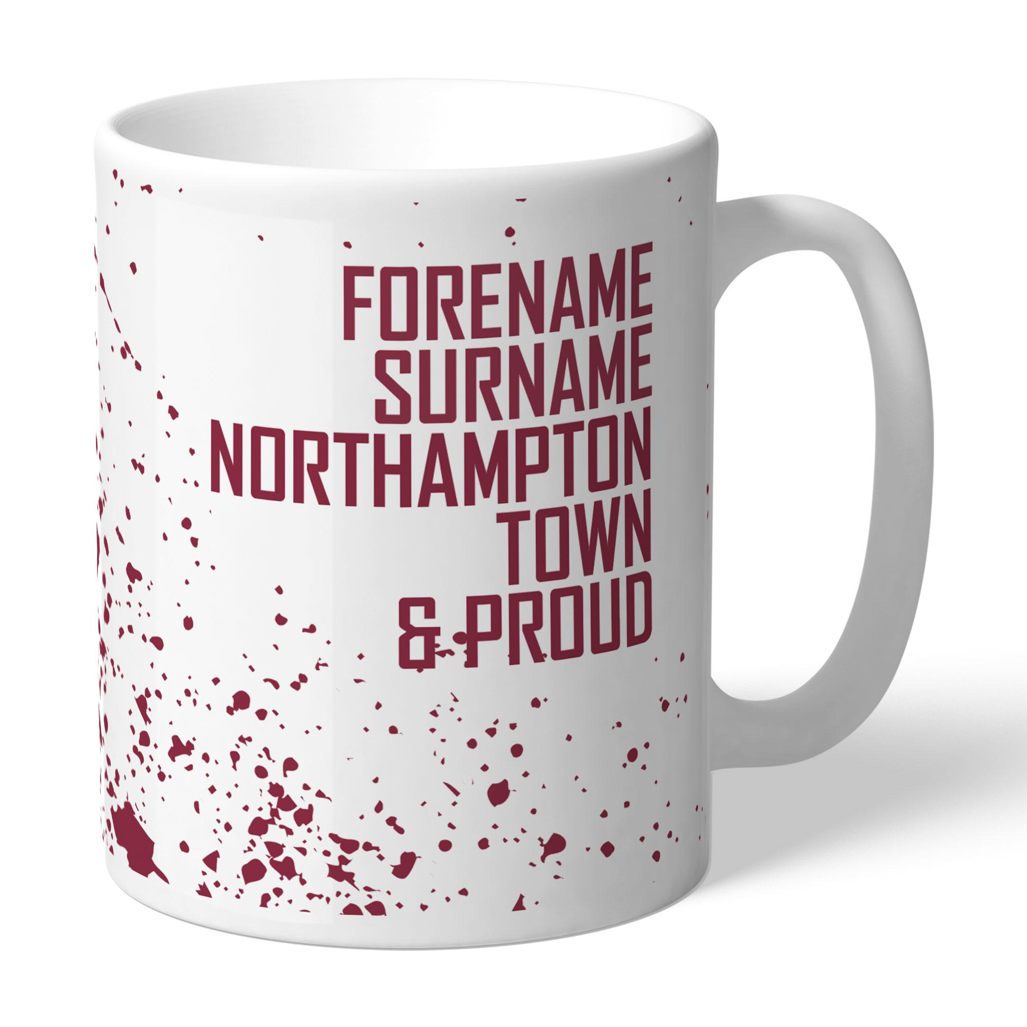 Northampton Town FC Proud Mug