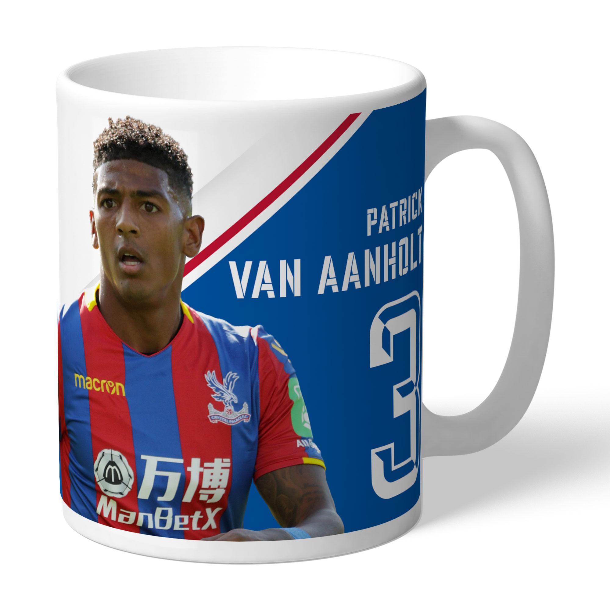 Crystal Palace FC van Aanholt Autograph Mug